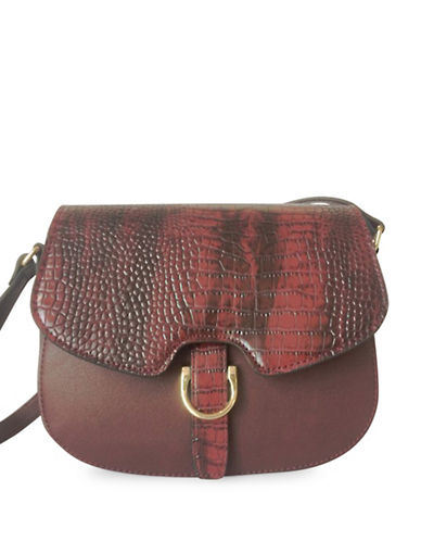 Mark Adam Magnetic Crossbody Bag-RED-One Size