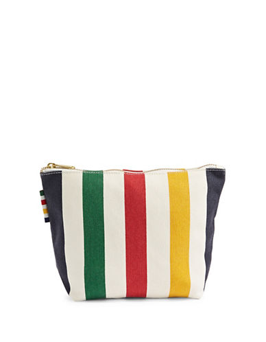HudsonS Bay Company Striped Makeup Pouch-MULTI-One Size