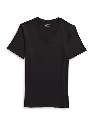 1670 Plain Cotton Tee-BLACK-X-Large