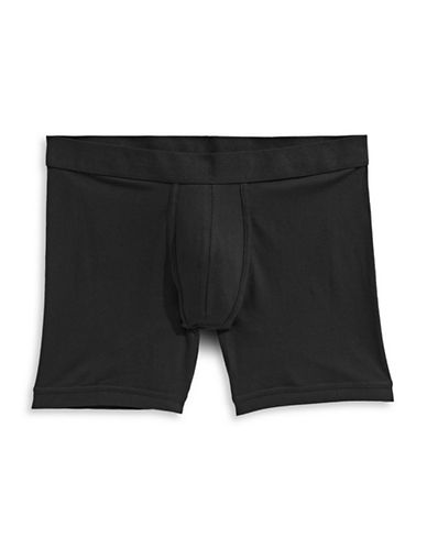 1670 Basic Boxer Brief-BLACK-Large