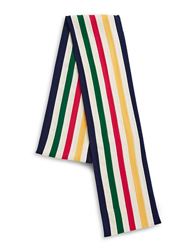 HudsonS Bay Company University Wool Scarf-MULTI-One Size