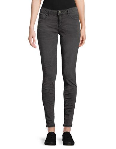 Manguun Casual Slim Jeans-GREY-44