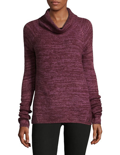 Manguun Roll Neck Sweater-WINE-Medium