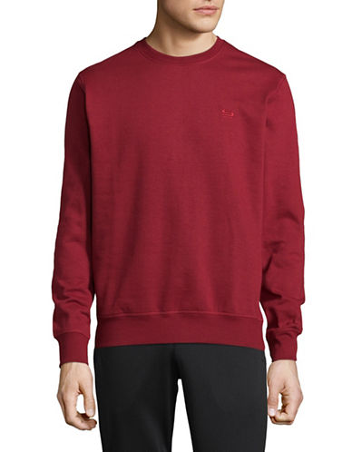 Manguun Crew Neck Sweater-RED-Small 89446894_RED_Small