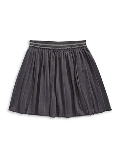 Bob Der Bar Pleated Skirt-GREY-3T