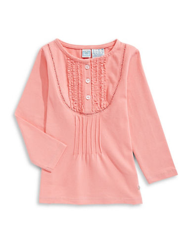 Bob Der Bar Knit Long Sleeve Top-ORANGE-18 Months