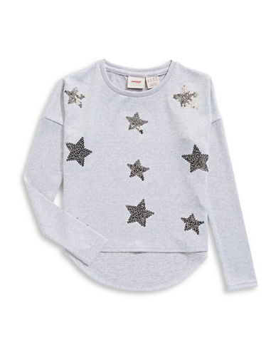 Manguun Sequin Star Sweater-GREY-Medium 89502286_GREY_Medium