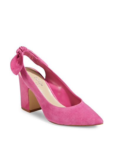 424 Fifth Laci Pointy Slingback Pumps-RAZZLE-9.5