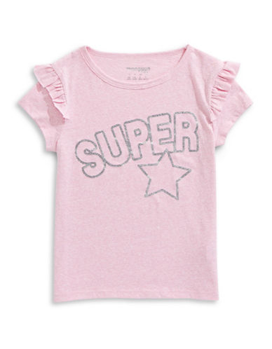 Manguun Super Star Tee-PURPLE-Medium