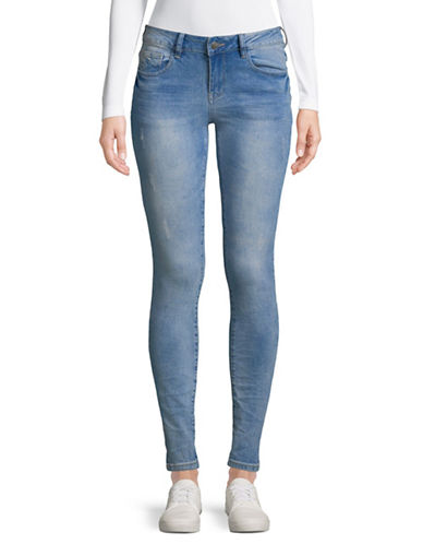 Manguun Loose-Fit Skinny Jeans-BLUE-40