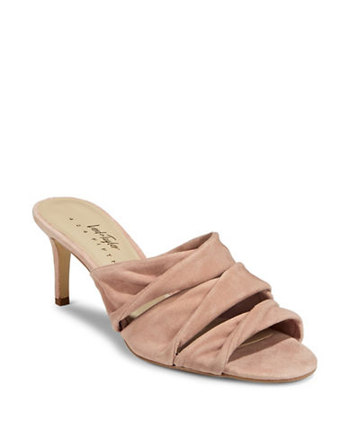 424 Fifth Gala Leather Sandals-PINK-7.5
