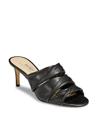 424 Fifth Gala Leather Sandals-BLACK-8.5