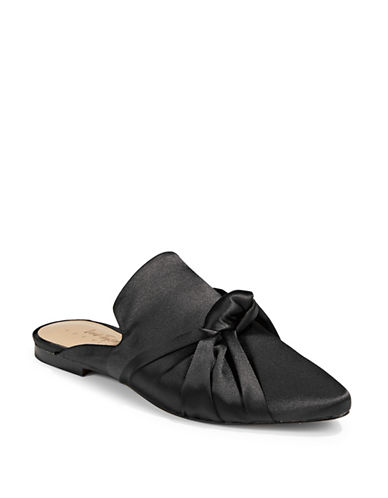 424 Fifth Hava Satin Mules-BLACK-6