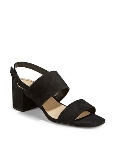 424 Fifth Blocked Slingback Sandals-BLACK-5.5