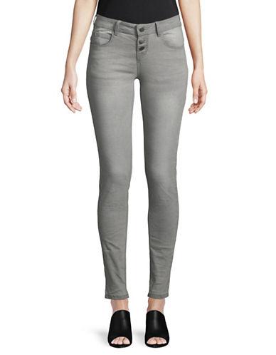 Manguun Classic Skinny Jeans-GREY-40
