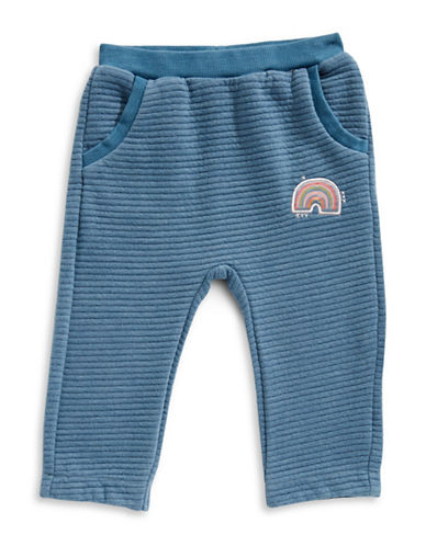 Bob Der Bar Ribbed Jogger Pants-BLUE-12 Months