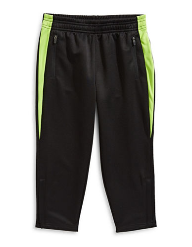 Bob Der Bar Elasticized Zip Sweatpants-BLACK-2T