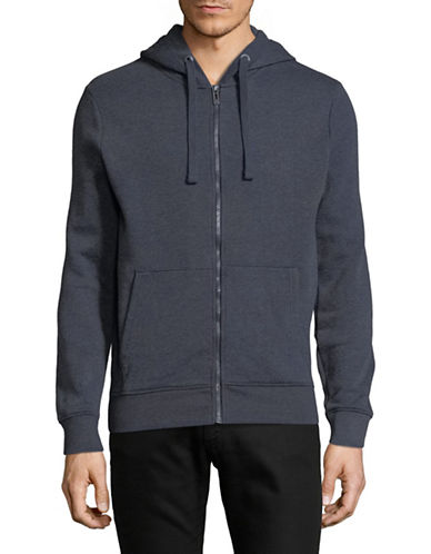 Manguun Long-Sleeve Hooded Jacket-NAVY-X-Large