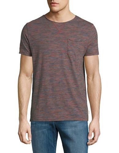 Manguun Short-Sleeve Cotton T-Shirt-PINK-X-Large 89765462_PINK_X-Large