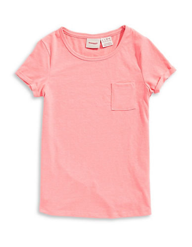 Manguun Stars Cotton Tee-PINK-Small 89764851_PINK_Small