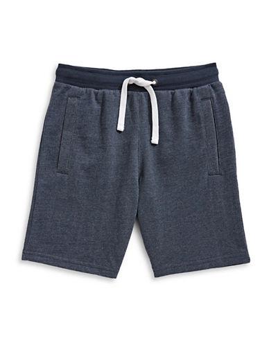 Manguun Bermuda French Terry Shorts-BLACK-X-Large 89764871_BLACK_X-Large