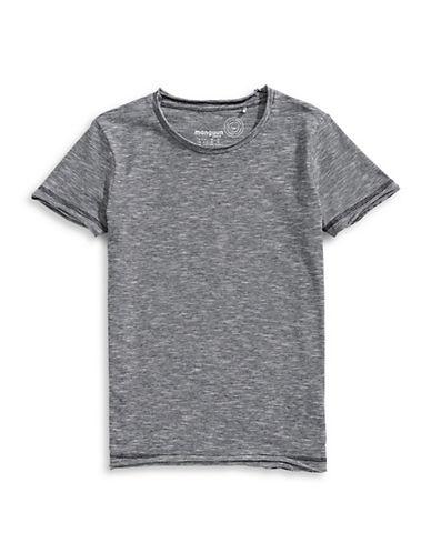 Manguun Short-Sleeve Cotton Tee-GREY-Small 89764886_GREY_Small