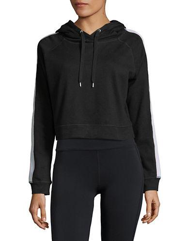 Askya Raglan-Sleeve Cropped Hoodie-BLACK-X-Large 89931646_BLACK_X-Large