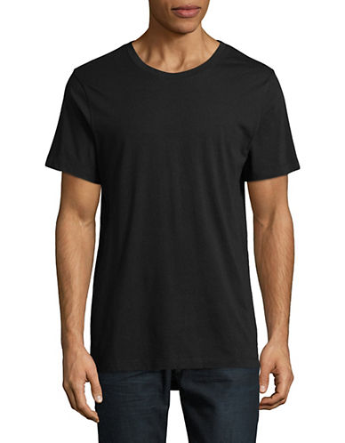 Askya Short-Sleeve Hi-Lo T-Shirt-BLACK-XX-Large 89777883_BLACK_XX-Large
