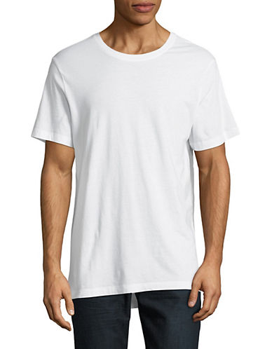 Askya Short-Sleeve Hi-Lo T-Shirt-WHITE-Medium 89777875_WHITE_Medium