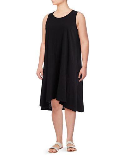 Lord & Taylor Petite Sleeveless Cotton Dress 89885119