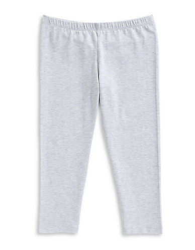 Manguun Basic Cotton Capri Leggings-GREY-X-Large 89760605_GREY_X-Large