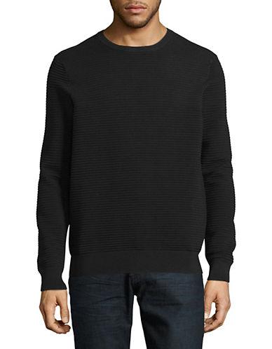 Black Brown 1826 Ottoman Stitch Sweater 90094012