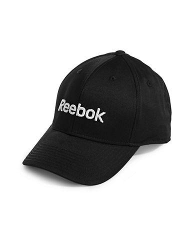 Reebok Logo Baseball Cap-BLACK-Large 89199803_BLACK_Large