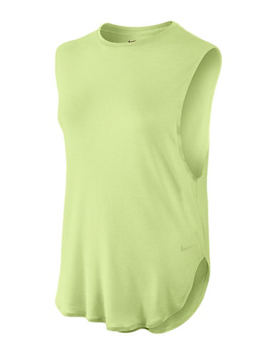 Nike Elevated Sleeveless Tee-GREEN-Medium 88829251_GREEN_Medium
