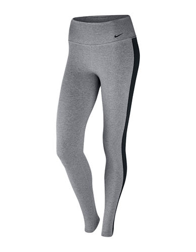 Nike Dri-FIT Knit Tights-HEATHER GREY-X-Small 88917401_HEATHER GREY_X-Small