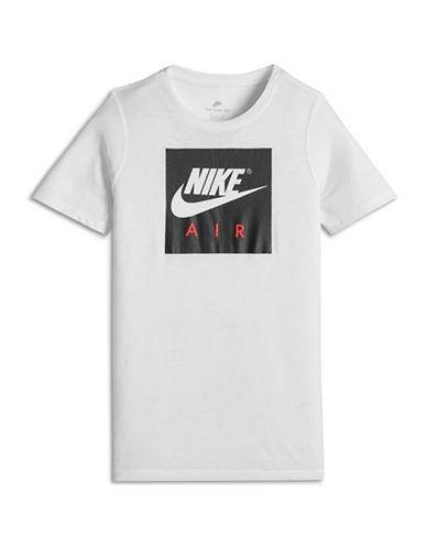 Nike Sportswear AIR Logo Tee-WHITE-Small 89890548_WHITE_Small