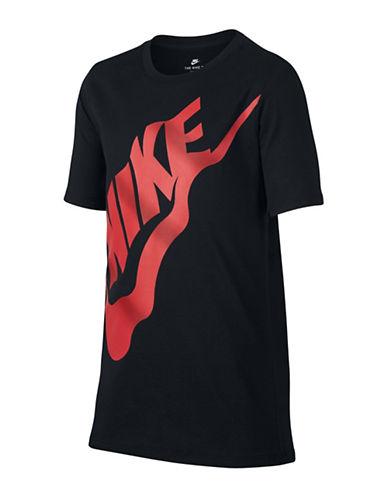 Nike Sportswear Wavy Futura T-Shirt-BLACK-Small 89890553_BLACK_Small