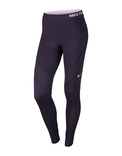 Nike Hyperwarm Solid Leggings-PURPLE-Large 88757947_PURPLE_Large
