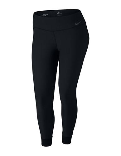 Nike Power Tight Fit Training Tights-BLACK-2X