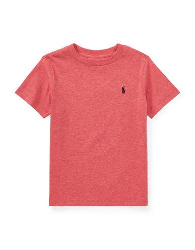 Ralph Lauren Childrenswear Cotton Mesh Polo Shirt-ORANGE-3