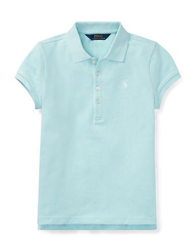 Ralph Lauren Childrenswear Stretch Mesh Polo-BLUE-Medium 90029518_BLUE_Medium