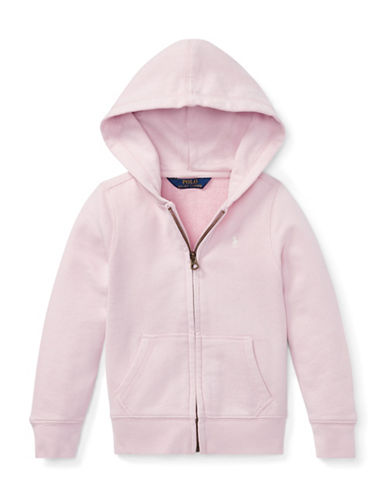 Ralph Lauren Childrenswear Girls French Terry Hoodie-PINK-5