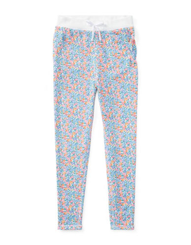 Ralph Lauren Childrenswear Floral Cotton-Blend Pants-WHITE-XLarge