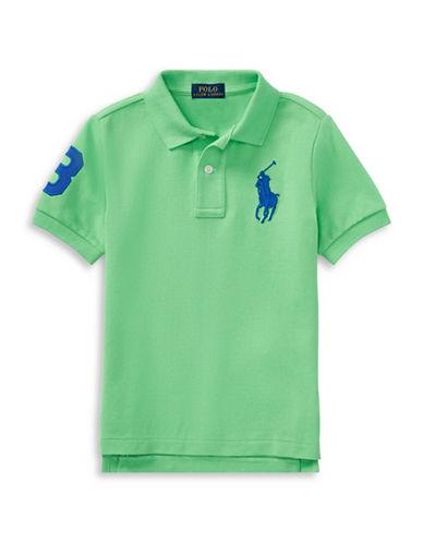 Ralph Lauren Childrenswear Cotton Logo Polo Shirt-GREEN-7