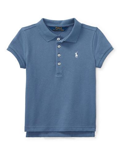 Ralph Lauren Childrenswear Stretch Mesh Polo-BLUE-6X 90029773_BLUE_6X
