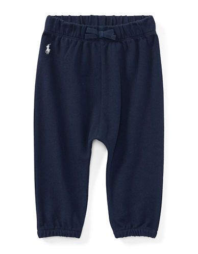 Ralph Lauren Childrenswear Cotton Mesh Jogger Pants-BLUE-12 Months