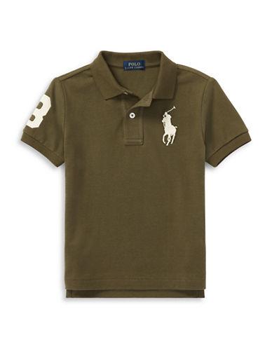Ralph Lauren Childrenswear Cotton Logo Polo Shirt-GREEN-4