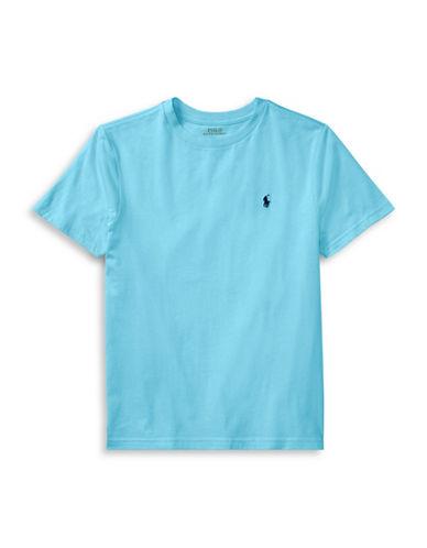 Ralph Lauren Childrenswear Crew Neck Cotton Tee-GREEN-4