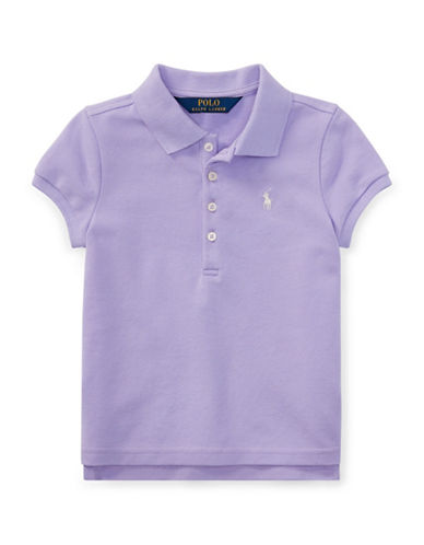 Ralph Lauren Childrenswear Short-Sleeve Stretch Mesh Polo-PURPLE-6