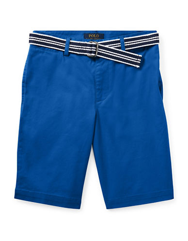 Ralph Lauren Childrenswear Stretch Chino and Belt Set-DARK BLUE-12